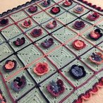 Butterfly Garden Blanket Pattern