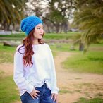 Lily Slouch Beanie Pattern
