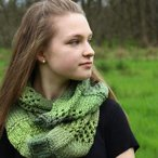 Into the Forest Cowl Pattern