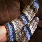 Spiral Slipper Socks