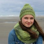 Into the Forest Beanie and Cowl Set