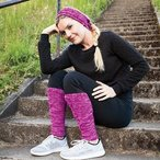 Patapsco Legwarmers and Headband