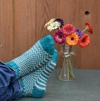 Yeti Slipper Socks Pattern