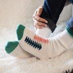Flying Geese Socks