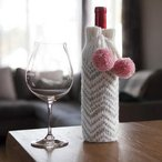 Chevron Wine Bottle Cozy