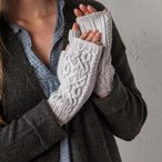 Loughrea Fingerless Mitts Pattern