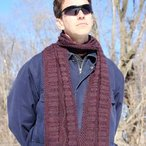 Grand Canyon Scarf Pattern