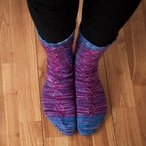 Twirla Socks Pattern