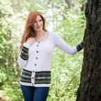 Flower Island Cardigan Pattern