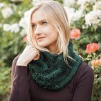Double Leaf Scarf Pattern