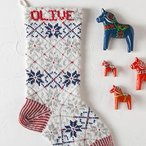 Nordic Stocking Pattern