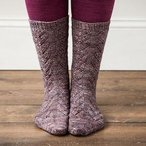 Textured Lace Socks