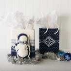 Blizzard Bag Holiday Gift Totes
