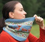 Deer in the Meadow Cowl