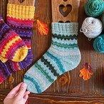 Mountain Peaks Socks
