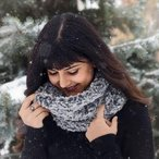 Luxurious Faux Fur Cowl