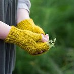 Wild Thistle Fingerless Gloves