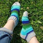 Scripey Socks