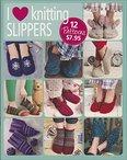 Go Crafty! I Love Knitting Slippers