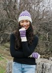 Lampwork Hat & Mitts Pattern