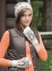 Architecture Hat & Mitts - Aqueduct Pattern Download