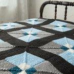 Tilework Afghan Pattern