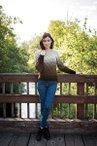 Allotrope Twist Sweater