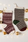 Fair Isle and Geometric Stockings