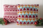 Fair Isle & Festive Fox Pillows