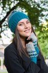 Chevron Hat and Mitts