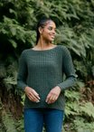 Waffle Stitch Pullover