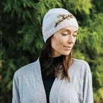 Falling Leaves Hat: Fingering