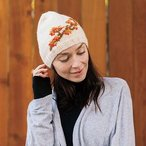 Falling Leaves Hat: Worsted