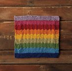 Arc en Ciel Dishcloth (free download)