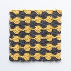 Peach Margot Crochet Dishcloth Pattern