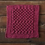 Loganberry Dishcloth