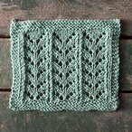 Ricochet Lace Dishcloth