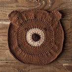 Bear With Me Dishcloth