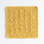 Custard Pie Crochet Dishcloth Pattern