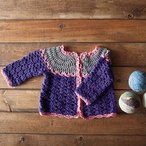 Patty Cake Crocheted Cardi