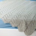 Willow Baby Crocheted Afghan