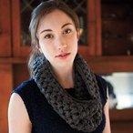 Puff Stitch Crochet Cowl