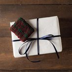 Plaid Gift Card Holder