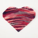 Queen of Hearts Dishcloth Pattern