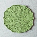 Lydia's Lily Pad Dishcloth Pattern