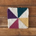 Pinwheel Dishcloth