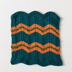 Chevron Stripes Dishcloth