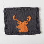 Deer Season Dishcloth