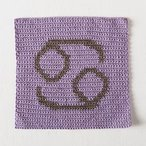 Zodiac Dishcloth Series - Cancer Dishcloth