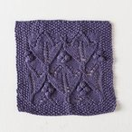 Plum Lotus Dishcloth